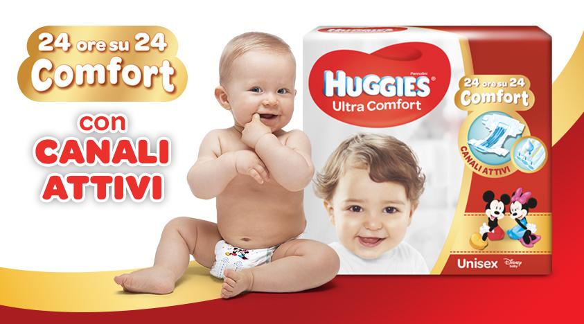 Pannolini Huggies Ultra Comfort - presentazione