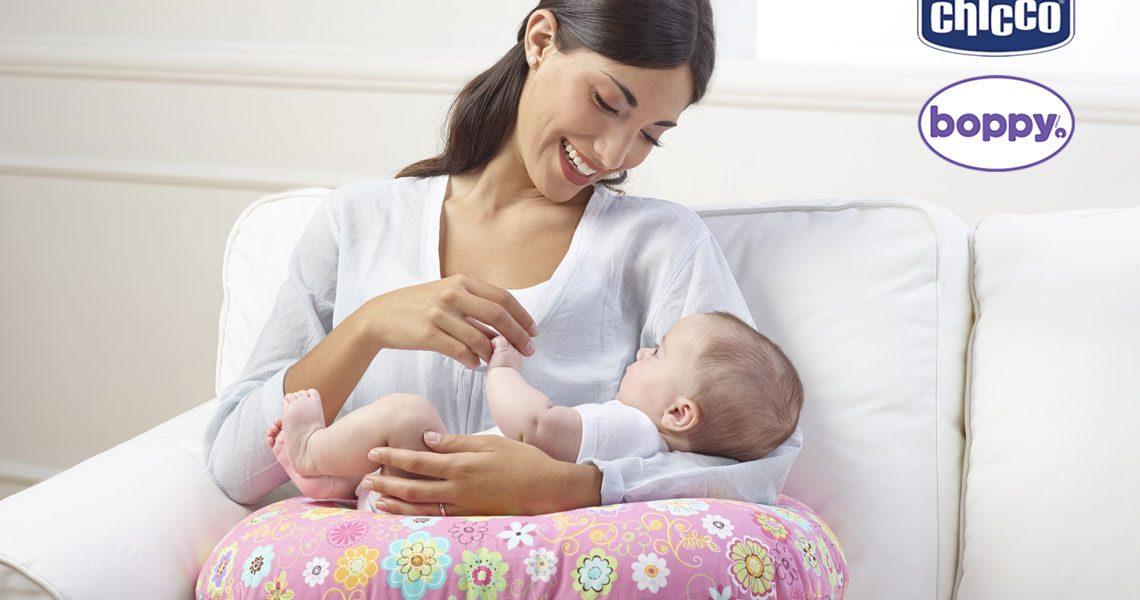 allattamento chicco e boppy