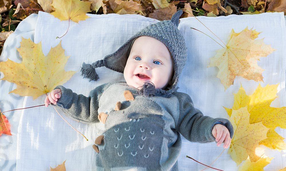 autunno con i bambini
