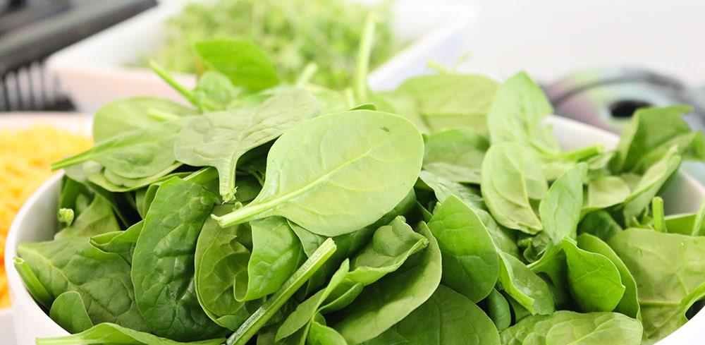 pastina con spinaci